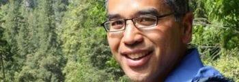 Patrick Gonzalez speaks with Conservation + Tech fellows